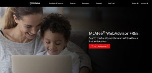 安全性をMcAfee SiteAdvisorで調査してみた
