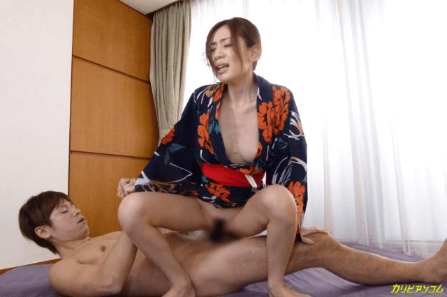 無修正作品「乱れ肌蹴る浴衣撫子 前田かおり」画像