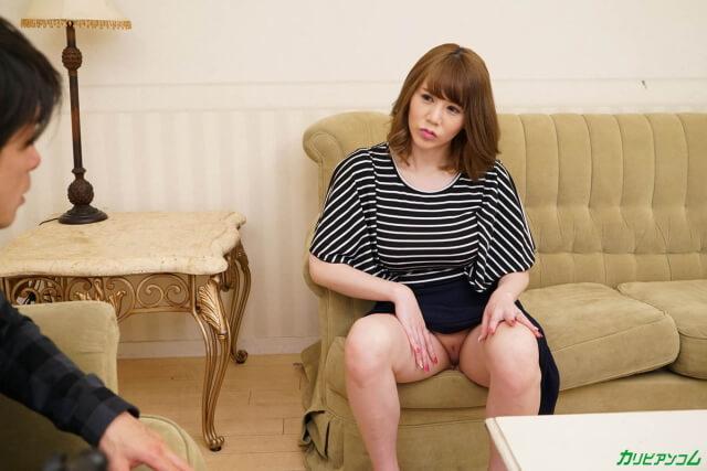小泉真希 夫の単身赴任で欲情が抑えきれない人妻